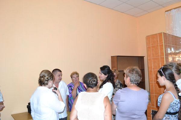 відкриття комп'ютерного класц в селі Клембівка