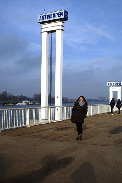 Аліна Рудченко у місті Антверпен, Бельгія