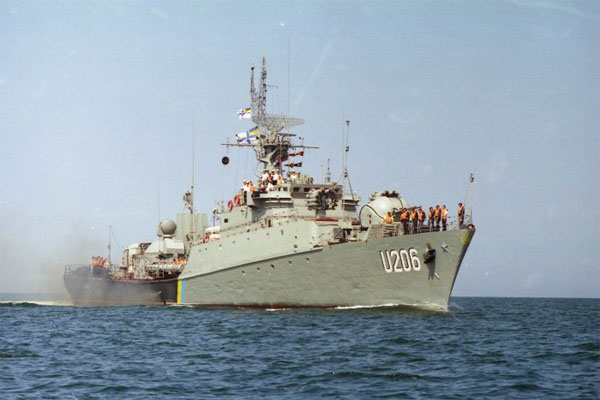 протичовновий корвет U-206 «Вінниця»