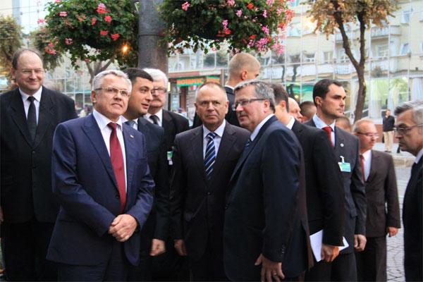 Президент Польщі Броніслав Коморовський відвідав Вінницю