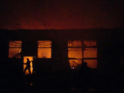 пожежа магазину будівельних матеріалів по вул. Скалецького