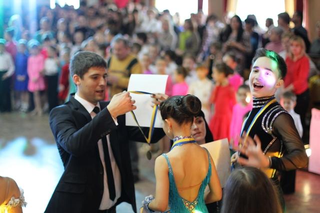 нагородження танцівників