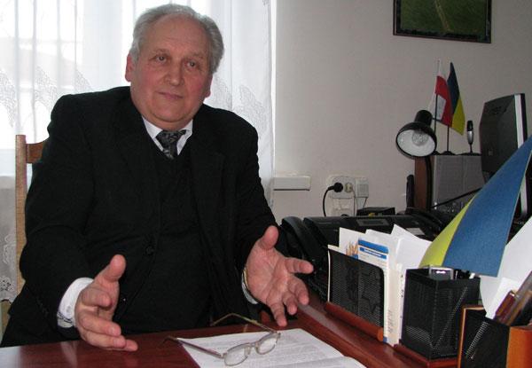 Директор Винницкого Художественного музея Илья Безбах