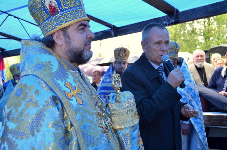 Микола Джига подякував архієрею за молитви та просвітницьку роботу