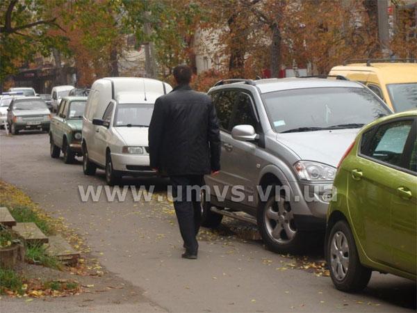 Парковки перевіряє ДАІ