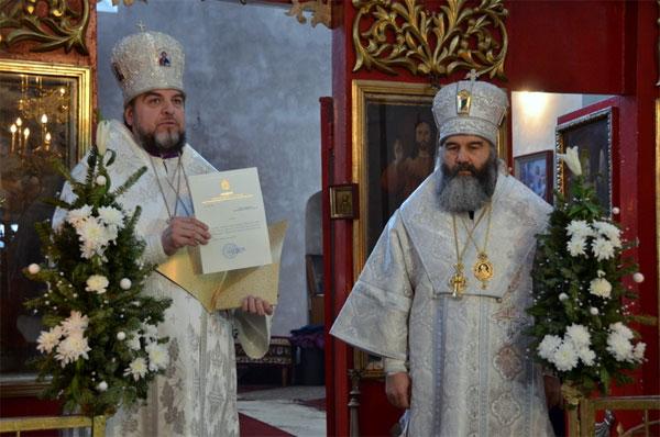 митрополит Вінницький і Барський Симеон представив архієрея Могилів-Подільської єпархії Агапіта