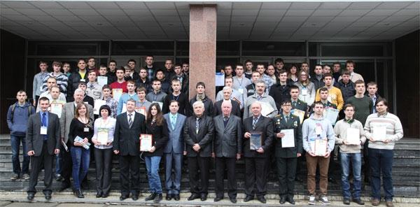 """учасники фінального етапу Всеукраїнської студентської олімпіади з """"Радіотехніки"""""""