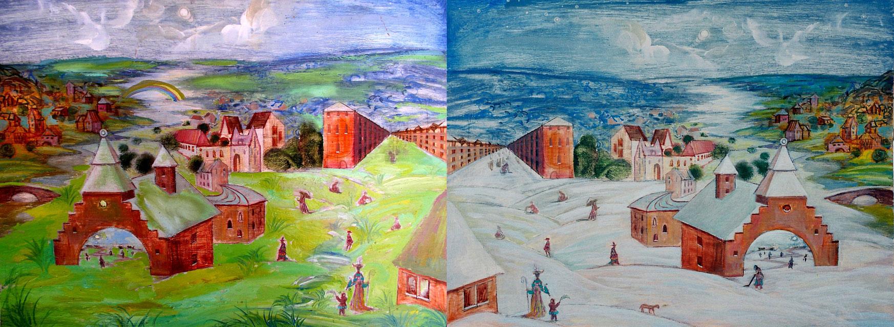 Вінничани вже можуть проголосувати за роботи художників, які хочуть побачити на вінницьких будівлях