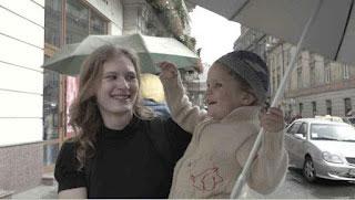 Ольга Кудріна з донечкою