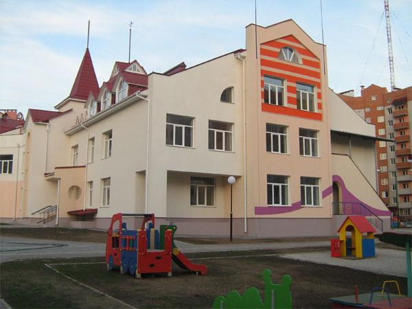 Дитячий садок у мікрорайоні Поділля
