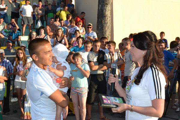 Розіграш квитків  на Євро-2012 від фонду Батьківська земля