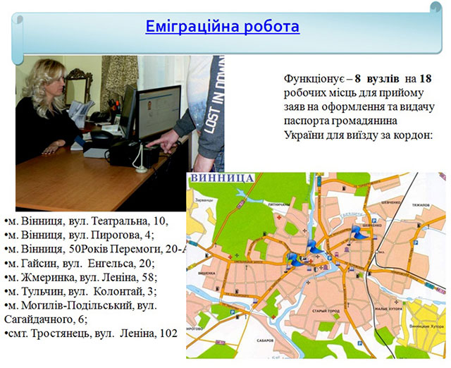 На Вінниччині видано більше 8,5 тисяч біометричних паспортів