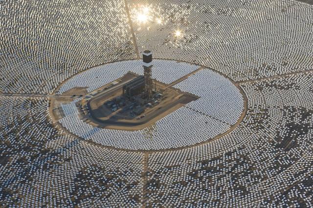 В США запустили найбільшу сонячну електростанцію в світі