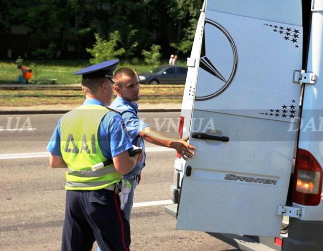 ДАІ перевірятиме водіїв, які займаються пасажирськими перевезеннями