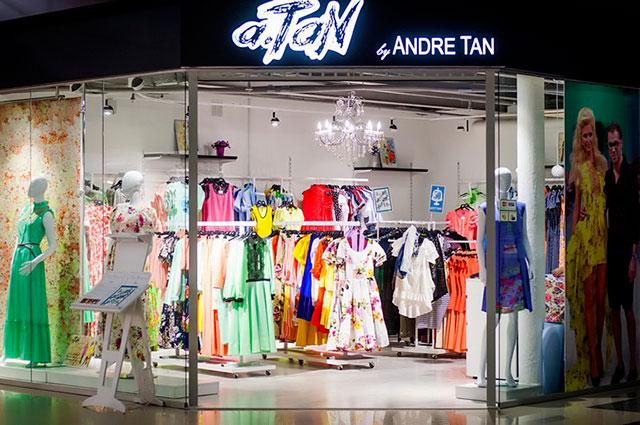 Andre TAN відкрив магазин у Мегамоллі