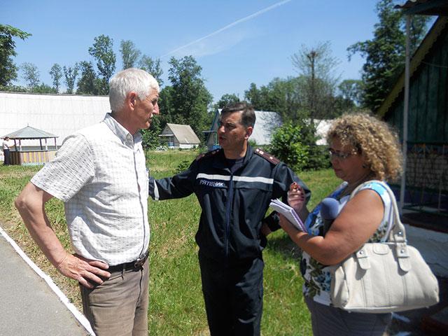 На Вінниччині рятувальники перевіряють літні табори