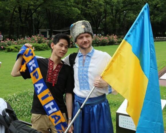 В Японії пройшов марш вишиванок