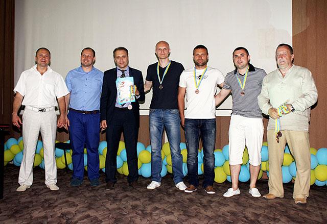 Збірна податківців Вінниччини взяла бронзу серед аматорських футзальних команд