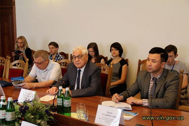 Вінницька область поглиблюватиме співпрацю з Киргизькою Республікою