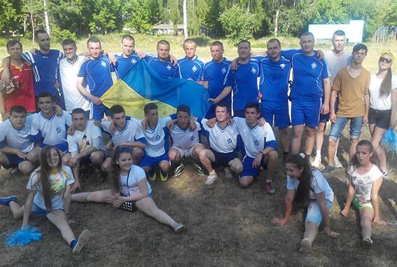 Вінницькі правоохоронці провели дружній футбольний матч з дітьми