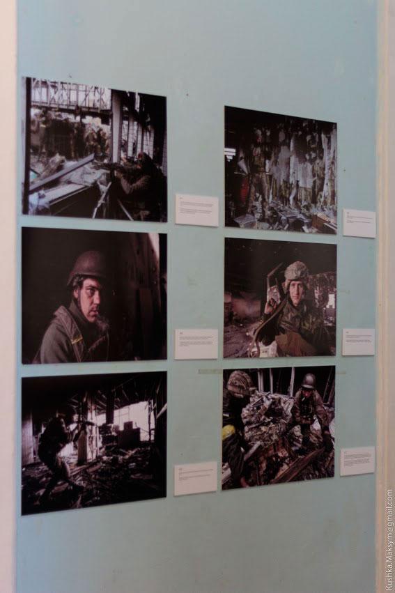 На закритті фотовиставки Сергія Лойко відбудеться нагородження Кіборгів 90-го батальйону ЗСУ