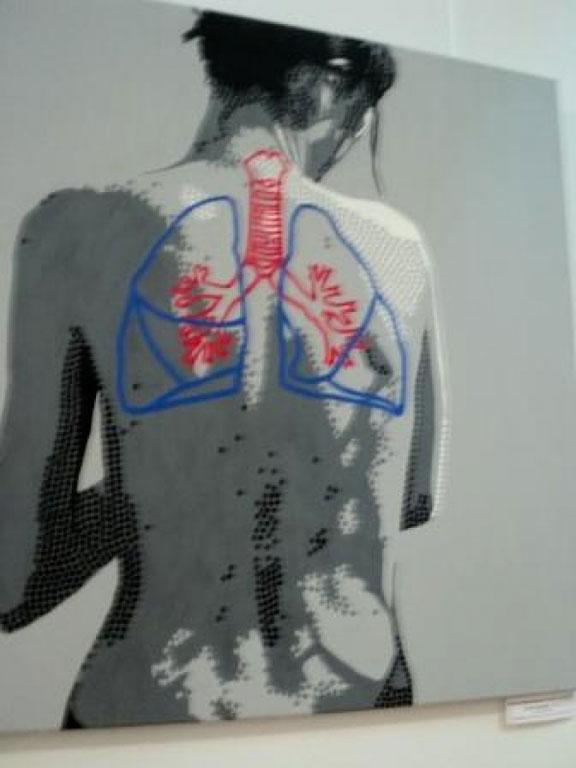 У краєзнавчому музеї працює виставка сучасного мистецтва молодих польських художників
