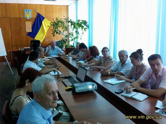 У Вінниці почали розробляти План заходів з реалізації Стратегії збалансованого розвитку області