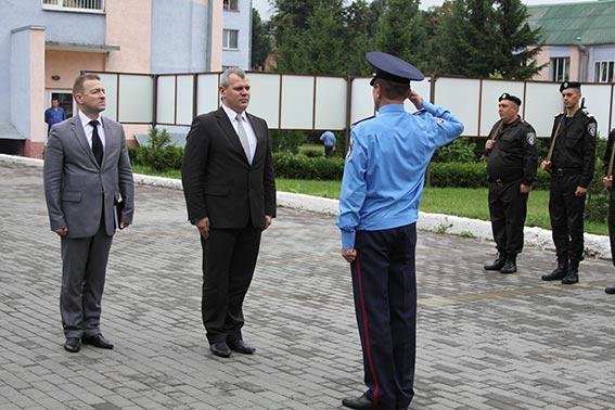 Міліцейські чини з міністерства перевіряли готовність «Вінниці» до АТО