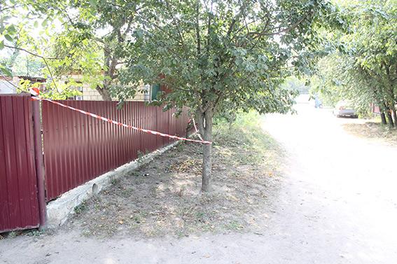 Біля приватного будинку на вулиці Потьомкіна знайшли боєприпас до гранатомета
