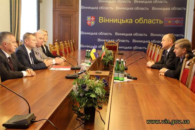 Досвід Вінниччини у галузі освіти приїхали переймати освітяни із Литви