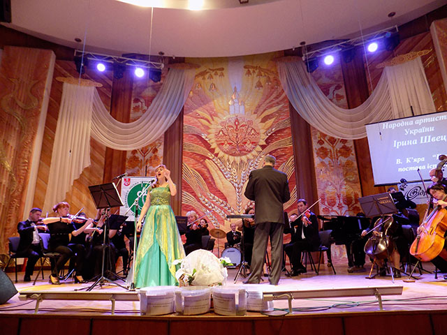 """Під час благодійного концерту """"Цінуй життя"""" було зібрано майже 15 тисяч гривень"""