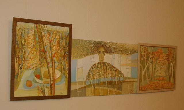 У краєзнавчому музеї триває виставка вінницької художниці Світлани Телець, фото-1