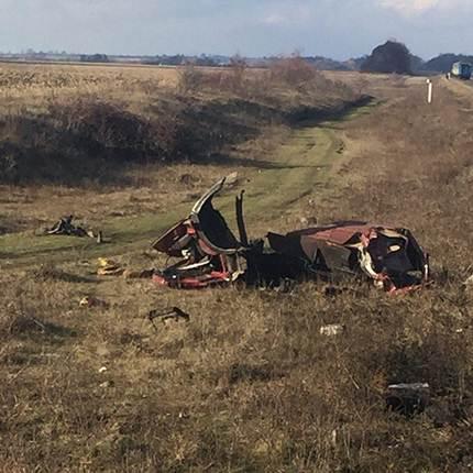 """Внаслідок зіткнення з пасажирським потягом  """"Хмельницький-Вінниця"""" загинув водій вантажівки"""