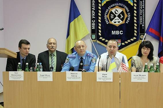Досвід вінницьких криміналістів приїхали переймати колеги з-за кордону