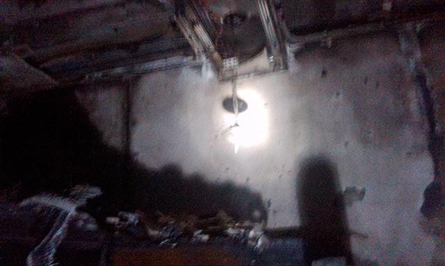 Через коротке замкнення в Шаргороді загорівся житловий будинок