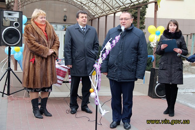 Вінницький центр соціально-психологічної реабілітації «Обрій» отримав у дарунок спеціально обладнаний автобус