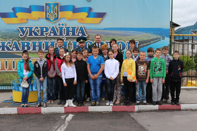 Працівники  Міндоходів Вінниччини показали дітям роботу Могилів-Подільської митниці