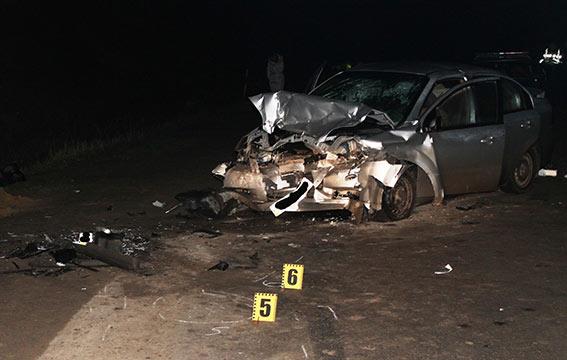В ДТП на Вінниччині загинув водій одного з автомобілів, ще четверо людей потрапило до лікарні