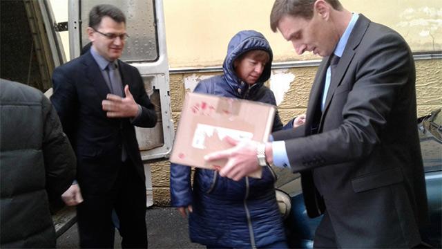 Вінничани зібрали гуманітарну допомогу вихованцям дитячого будинку на Донеччині