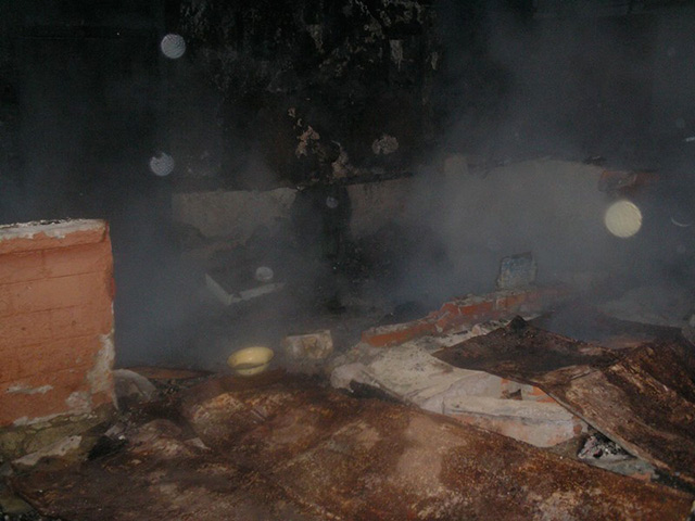 В Тульчинському районі через недопалок цигарки мало не згорів будинок