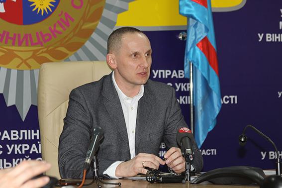 Новий керівник поліції Вінниччини Антон Шевцов розповів про своє бачення роботи поліції