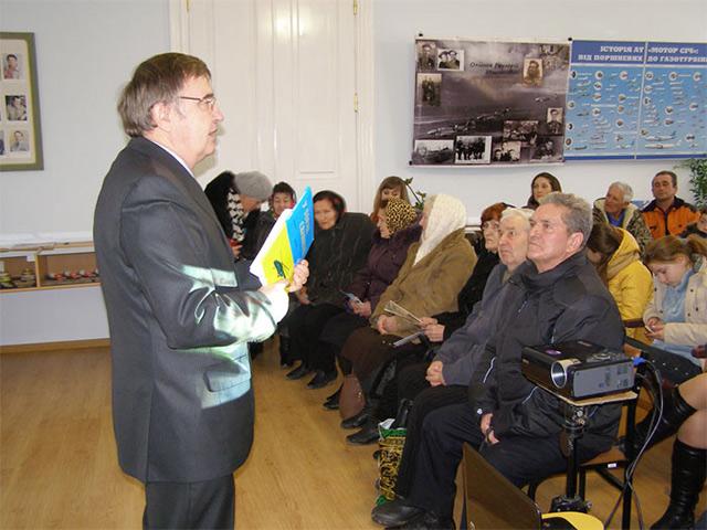 У Вороновицькому музеї історії авіації відбулась зустріч із родиною Героя Другої світової війни