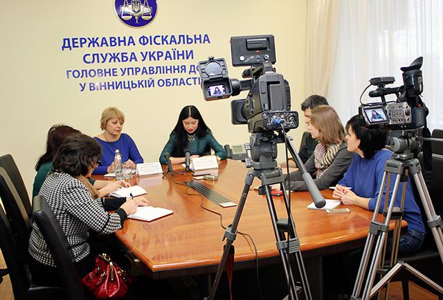 На Вінниччині продовжується кампанія інформування платників про законодавчі зміни в оподаткуванні