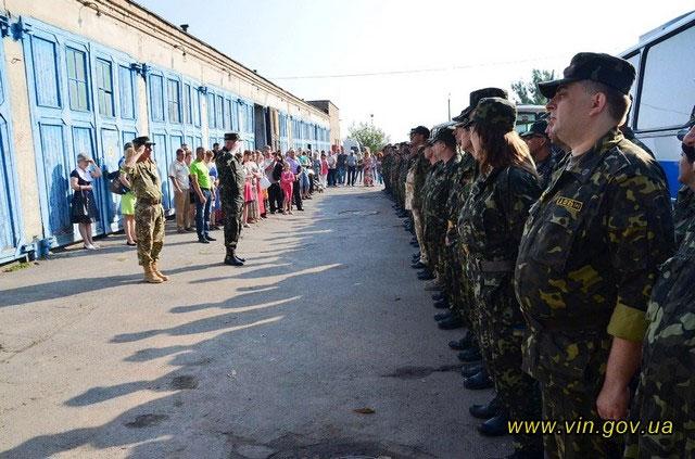 Ряди медиків у зоні АТО знову поповнили вінницькі лікарі
