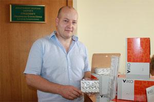 Три вінницькі лікарні безкоштовно отримали майже 700 антибактеріальних розеток та вимикачів