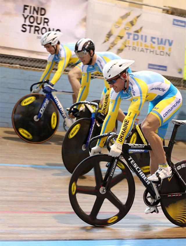Вінничани здобули золоті та срібні медалі на зимовому чемпіонаті України по велоспорту