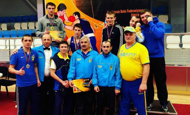 """На Міжнародному боксерському турнірі в Азербайджані вінничани  здобули """"золото"""" та """"бронзу"""""""