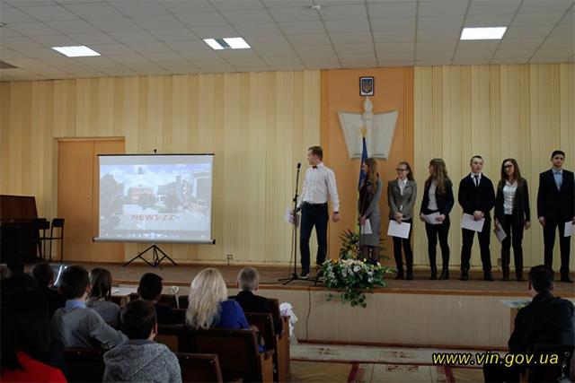 У Вінниці визначено переможців обласного кінофестивалю відеороликів «WhyEnglish?»