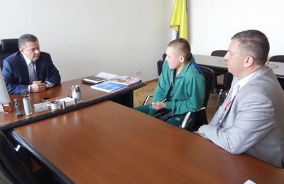 Вінницький герой Олександр Прібиш після лікування та реабілітації знову повертається у зону АТО