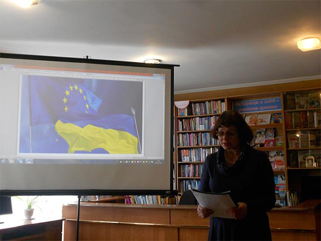 В бібліотеці на Вінниччині відкрили Пункт європейської інформації
